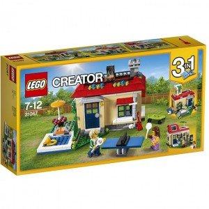 لگو poolside holiday lego 31067