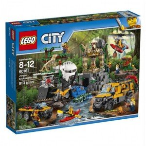 لگو  Jungle Mobile Lab lego 60160