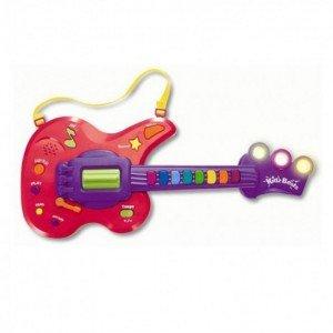 گیتار موزیکال قرمز و بنفش keenway کد 31913