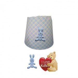 لوستر اتاق کودک طرح kidboo rabitto blue