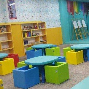 تنوع رنگی میز وانیابزرگ کودک