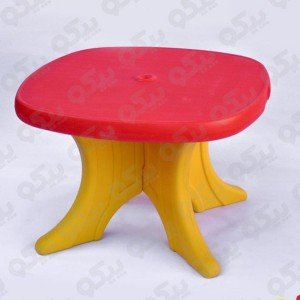 میز کودک پیکو رنگ قرمز زرد کد101