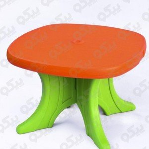 میز کودک پیکو رنگ نارنجی سبز کد101