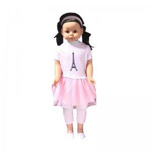 عروسک بزرگ با لباس صورتی لوتوس مدل  350014