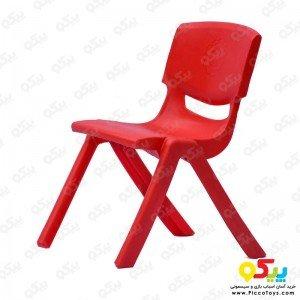 صندلی کودک طرح لبخند رنگ قرمز کد 5029