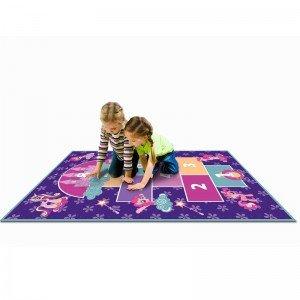 فرش بازی طرح لی لی پونی 9602