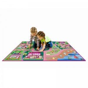 فرش بازی طرح شهر دخترانه 9603