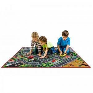فرش بازی طرح شهر سه بعدی 9604