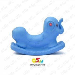الاکلنگ تعادلی فیل  یک نفره رنگ آبی