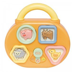 پازل موزیکال Musical Shape Sorter 80043 tolo