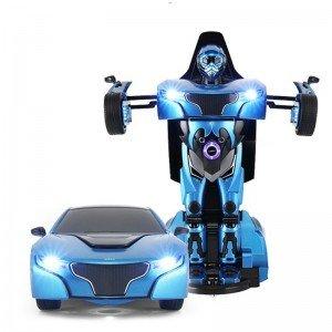 ماشین  تبدیل شونده آبی rastar 61800