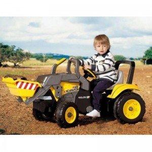 بولدوزر پدالی کودک پگ پرگو مدل  0552