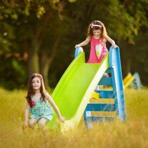 پخش سرسره بلند تاشو مهد کودک و خانه بازی