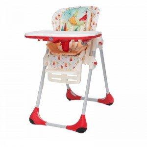صندلی غذا قارچ قرمز chicco 2679074
