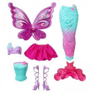 عروسک باربی با لباس اضافه