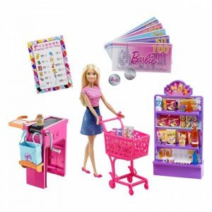 عروسک سوپر مارکت barbie fdy23