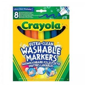 ماژیک 8 عددی قابل شستشو 8328  crayola washable Broad Marker