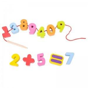 اعداد چوبی classic world  number beads مدل 3637