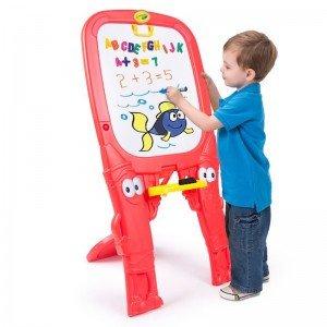 تخته نقاشی دو طرفه کودک  crayola كد 5034