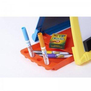تخته نقاشی رومیزی دو طرفه crayola 5074