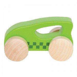 ماشین چوبی کوچک رنگ سبز little auto hape 0057