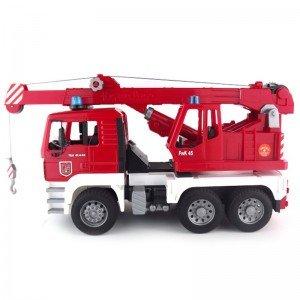 جرثقيل آتش نشانی mit light & sound module bruder 02770