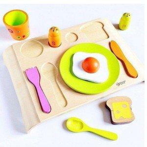 جورچین ست صبحانه 16 تکه classic world مدل Breakfast Puzzle 3659