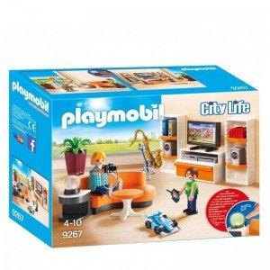 پلی موبيل مدل living room playmobil 9267