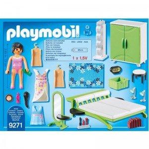 پلی موبيل مدل bedroom playmobil 9271