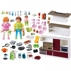 پلی موبيل مدل kitchen playmobil 9269