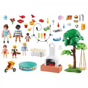 پلی موبيل مدل house warming party playmobil 9272