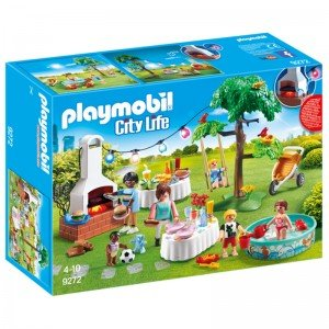 پلی موبيل مدل house warming party playmobil 9272