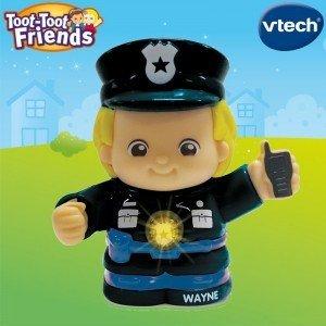 آدمک مامور پلیس وی تک یک سرگرمی جذاب برای کودکان