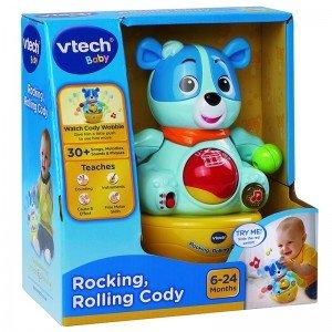 رولی پولی سگ موزیکال rocking rolling cody vtech 166403