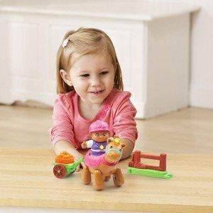 بازی و تفریح با آدمک دختر مزرعه وی تک