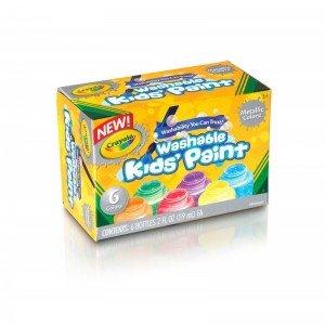 رنگ متالیک قابل شستشو کرایولا crayola 5000