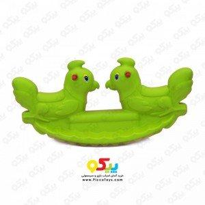الاکلنگ تعادلی دو نفره خروس رنگ سبز 5089