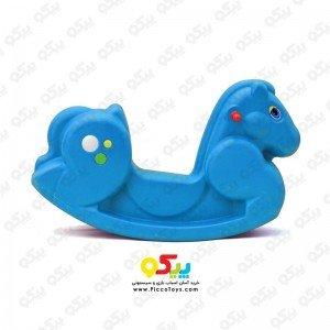 الاکلنگ کودک تعادلی پونی یک نفره رنگ آبی 5084