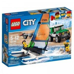 4x4 With Catamaran lego 60149