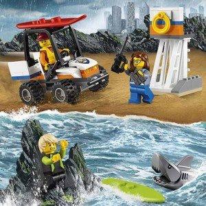 لگو  Coast Guard Starter Set lego 60163