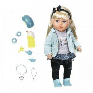 عروسک 43 سانتی خواهر بی بی بورن sister in city baby born 824245