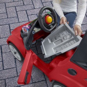 فروش ماشین پایی سقف دار کودک