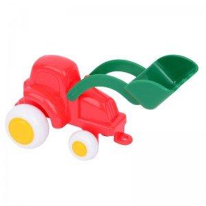 تراکتور قرمز سبز vikingtoys 01129