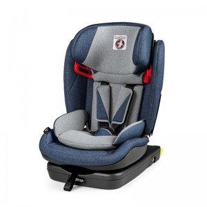 صندلی ماشین peg perego مدل Viaggio 1⋅2⋅3 Via رنگ Urban Denim-500
