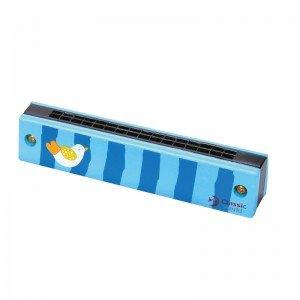 ساز دهنی فرشته چوبی آبی Classic World مدل Princess Harmonica 2622