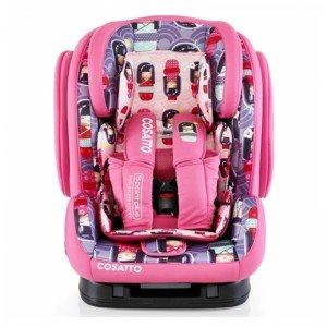صندلی ماشین ایزوفیکسی دختر ژاپنی تا 12 سال cosatto 3210