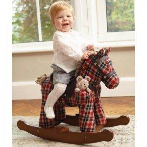 خرید راکر کودک چوبی اسب کودک