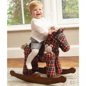 راکر اسب قرمز وینستون 3070 little bird Winston & Red Rocking Horse