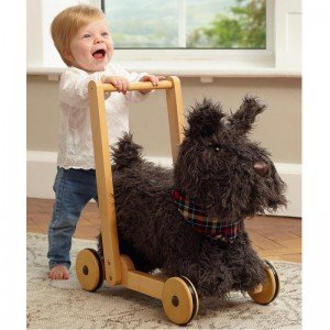راکر سگ اسکاتی Scottie Dog Push Along little bird 3053