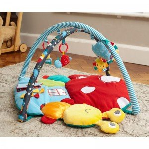 تشک بازی کودک حلزونی My Little Sunshine Multi-Activity Playgym little bird 3067